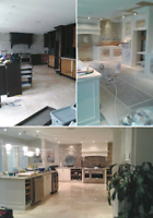 TOM: 647-761-8728 Spray Painting Kitchen Cabinets Refinishing