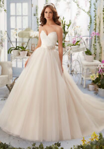 Mori Lee tulle wedding gown (used)
