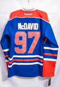 Oilers Connor McDavid # 97 Jersey *NEW*