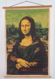 Art. Collection. Mona Lisa sur toile de lin. Irlande. L
