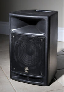 Yamaha MSR100 PA powered (active) speaker in excellent condition