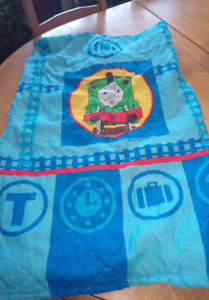 Thomas the train curtain and bed set