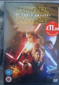 Star Wars The Force Awakens 99 identical DVDs