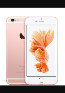 iPhone 6S 16G rose/gold