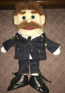 OPP Police Officer Hand Puppet 15 Inches Plush
