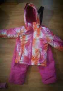 Girls size 6 Winter Jacket  and Snow Pants - Snow Suit