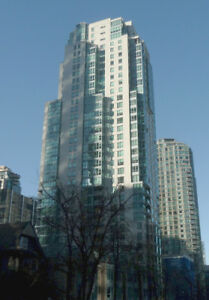 Downtown at Coal Harbour - good outlook  2 bdr 2 bath