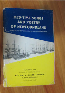 Come Home Year Newfoundland song book