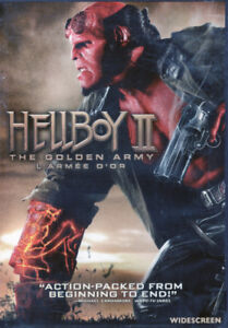 Brand New and Packaged Hellboy 2 The Golden Army DVD