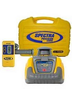 Trimble Spectra Ll100n Laser Levelw Hr320 Receiver