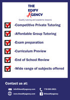 Elementary and Highschool Math / English / Science Tutoring