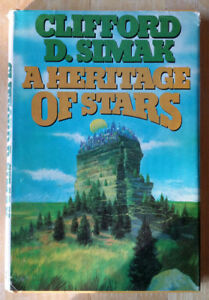 A Heritage of Stars Clifford D. Simak Science Fiction 1977 Hard