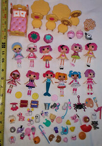 Large Lalaloopsy Toy Set with 12 Dolls and tons of Accessories! London Ontario image 1