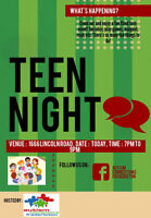 Teen Night at Autism Connections Fredericton