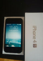 iPhone 4s 32GB Black with Box Fido/Rogers/Chatr