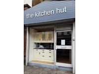 the kitchen hut, fitted kitchens, bedrooms and bathrooms