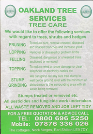 Do you need your trees cutting down
