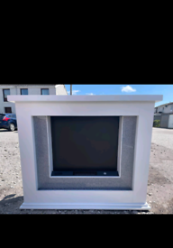 Electric fire for sale.