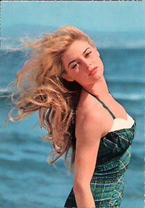 Carte postale Vintage - Brigitte Bardot