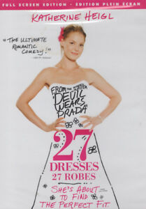 27 Dresses, Katherine Hiegl, Full Screen Edition Brand New DVD
