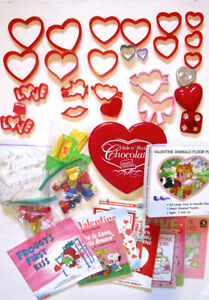VALENTINE  Pack,9 books,Truffle Box, Stamps,Giant Puzzle & more!