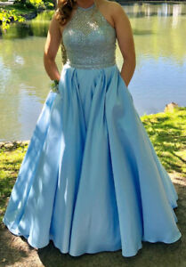 Abby Paris Prom Dress, style 95139