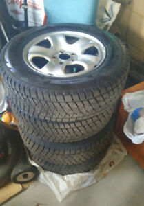 Bridgestone Blizzak Winter Tires with Rims Set