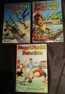 Set of 3 1961 First Edition Purnell Hardcover Children's Books