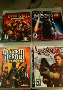 Five Ps3 Games