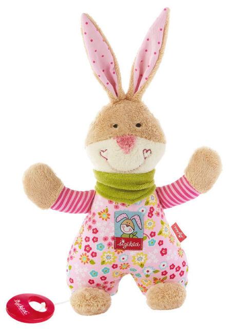 SIGIKID Spieluhr Bungee Bunny Hase - Melodien wählbar 40109