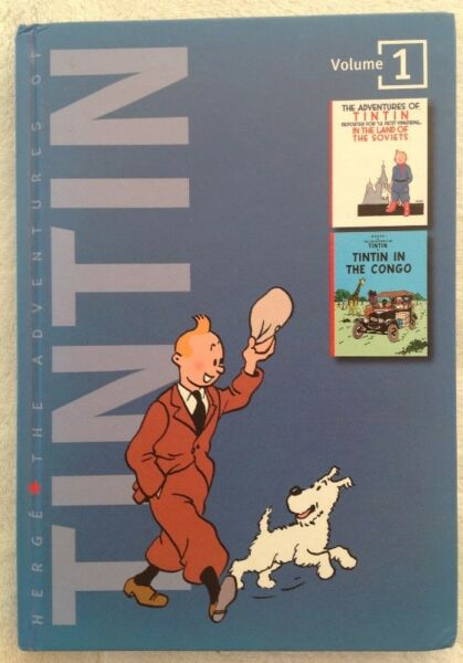 Tintin - Volume 1 - Tintin in the Land of the Soviets; Tintin in the Congo