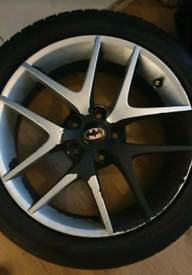 4x17 wheels and tyres
