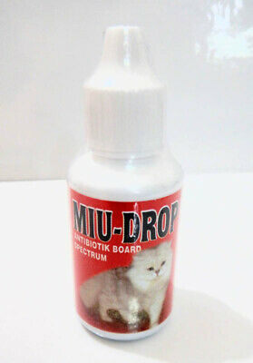 Miu Drops Antibiotic Board Spectrum For Cat/Dog 30ml [BEST (Best Antibiotic For Dogs)