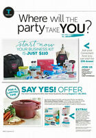 Start your Tupperware Business Today for only $30!