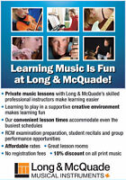Sign Up For Music Lessons This Fall!