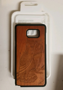 Samsung Note 5 wooden owl case $20 obo