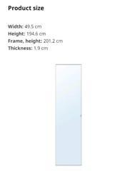 Ikea Vikedal Mirror wardrobe doors x4