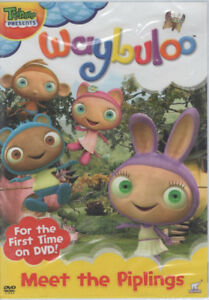Treehouse Waybuloo Meet the Piplings Brand New and Sealed DVD