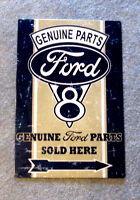 Ford Genuine Parts Sold Here Metal Sign
