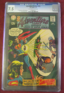 Adventure Comics #376 01/1969 Graded 7.5 $Lowered