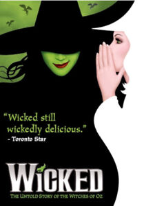 Wicked Thursday, July 26, 2018 ORCH DD 27 & 28