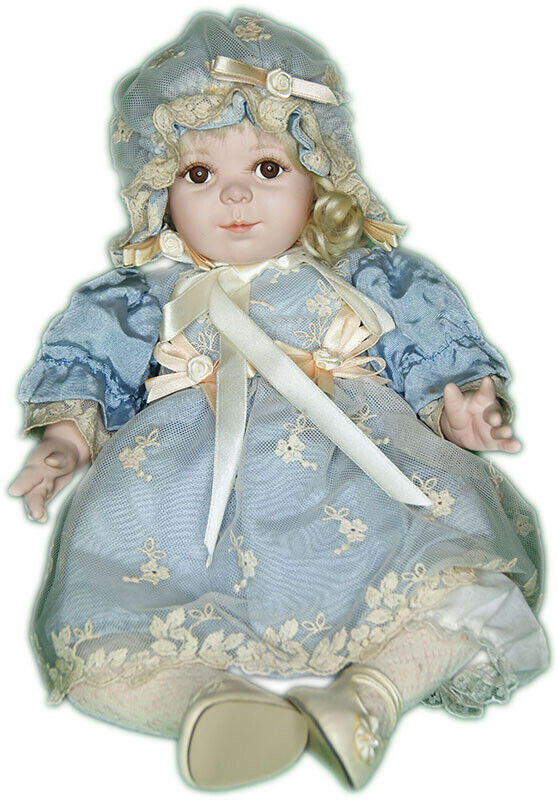 Collector Doll - Cindy McClure - Blue Dress - Material Culture