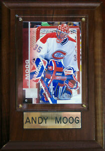 """ANDY MOOG TRADING CARD #294 MINT SEALED WALL PLAQUE 6.5""""x4.5""""x2"""