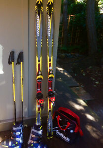 Complete Downhill ski set