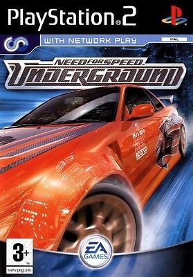 Need for Speed Underground PS2 jeu jeux course games spellen spelletjes 2841