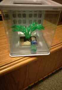 Hang able Betta or small fish tank