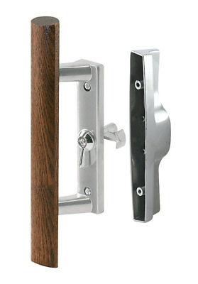 Prime-Line Sliding Glass Door Handle Latch Set Security Steel Reversible 14186 ()