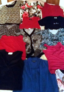 Ladies tops/tanks/sweaters/etc. 32 tops  for $29