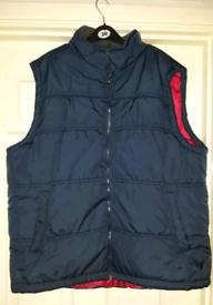 Men's padded Gilet/body warmer XXL