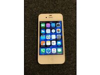 iPhone 4s 16gb white on EE